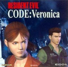 Jaquette de Resident Evil Code : Veronica Dreamcast