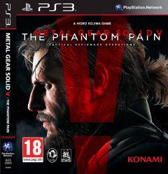 Jaquette de Metal Gear Solid V : The Phantom Pain PlayStation 3
