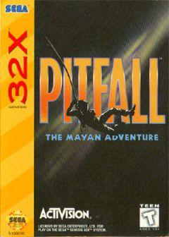 Jaquette de Pitfall : The Mayan Adventure Megadrive 32X