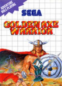 Jaquette de Golden Axe Warrior Master System