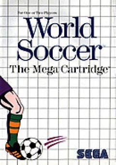 Jaquette de World Soccer Master System
