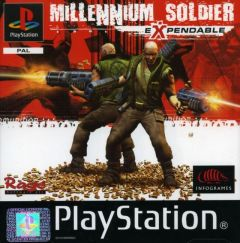 Jaquette de Millennium Soldier Expendable PlayStation