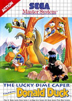 Jaquette de The Lucky Dime Caper Donald Duck Master System