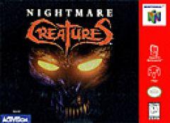 Jaquette de Nightmare Creatures Nintendo 64