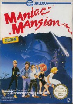 Jaquette de Maniac Mansion NES