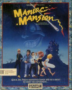 Jaquette de Maniac Mansion Amiga