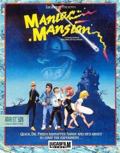 Jaquette de Maniac Mansion Atari ST