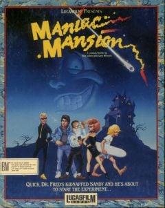 Jaquette de Maniac Mansion PC