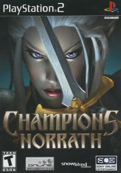 Jaquette de Champions of Norrath PlayStation 2