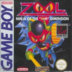 "Jaquette de Zool : The ninja of the ""Nth"" dimension Game Boy Advance"