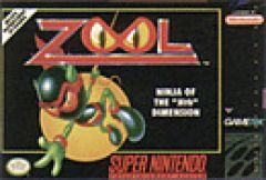 "Jaquette de Zool : The ninja of the ""Nth"" dimension Super NES"