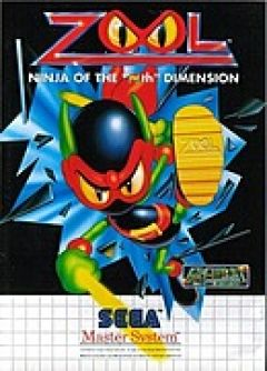 "Jaquette de Zool : The ninja of the ""Nth"" dimension Master System"