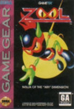 "Jaquette de Zool : The ninja of the ""Nth"" dimension GameGear"