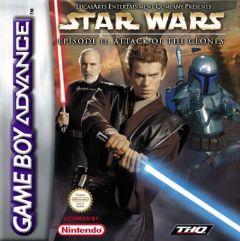 Jaquette de Star Wars Episode 2 : The Clone Wars Game Boy Advance