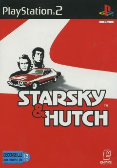 Jaquette de Starsky & Hutch PlayStation 2