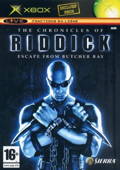 Jaquette de The Chronicles of Riddick : Escape from Butcher Bay Xbox