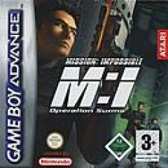 Jaquette de Mission : Impossible - Operation Surma Game Boy Advance