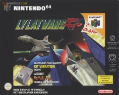 Jaquette de Lylat Wars Nintendo 64