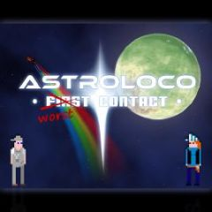 Jaquette de Astroloco : Worst Contact PC