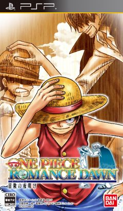 Jaquette de One Piece Romance Dawn PSP