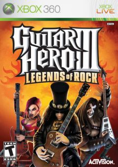 Jaquette de Guitar Hero III : Legends of Rock Xbox 360