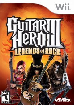 Jaquette de Guitar Hero III : Legends of Rock Wii