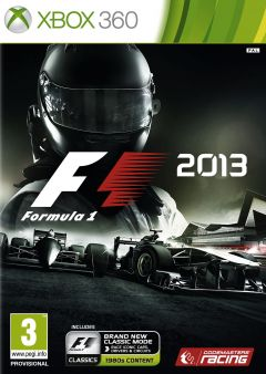 Jaquette de F1 2013 Xbox 360