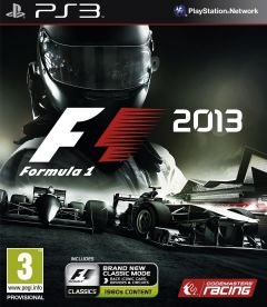 Jaquette de F1 2013 PlayStation 3
