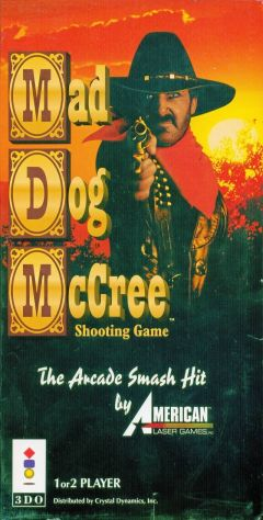 Jaquette de Mad Dog McCree 3DO