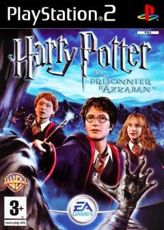 Jaquette de Harry Potter et le Prisonnier d'Azkaban PlayStation 2