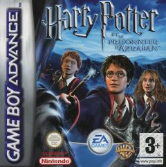 Jaquette de Harry Potter et le Prisonnier d'Azkaban Game Boy Advance