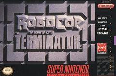 Jaquette de Robocop Versus The Terminator Super NES