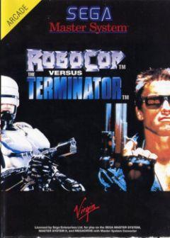 Jaquette de Robocop Versus The Terminator Master System