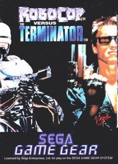 Jaquette de Robocop Versus The Terminator GameGear