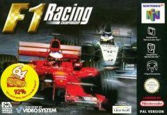 Jaquette de F1 Racing Championship Nintendo 64