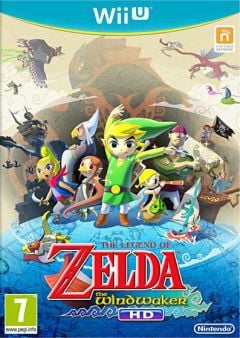 Jaquette de The Legend of Zelda : The Wind Waker HD Wii U