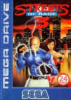 Jaquette de Streets of Rage III Megadrive