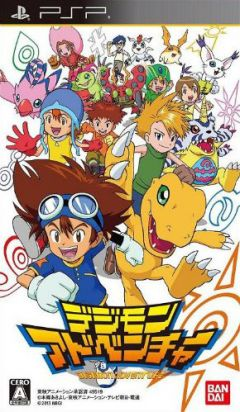 Jaquette de Digimon Adventure PSP