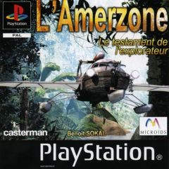 Jaquette de L'Amerzone : le Testament de l'explorateur PlayStation
