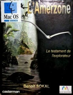 Jaquette de L'Amerzone : le Testament de l'explorateur Mac