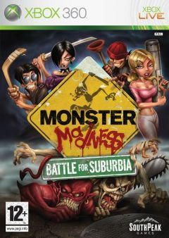 Jaquette de Monster Madness : Battle for Suburbia Xbox 360