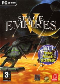 Jaquette de Space Empire V PC