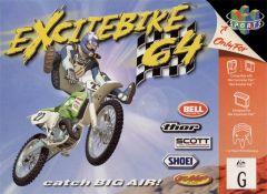 Jaquette de Excitebike 64 Nintendo 64