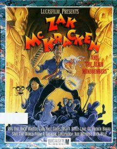 Jaquette de Zak McKracken and the Alien Mindbenders PC