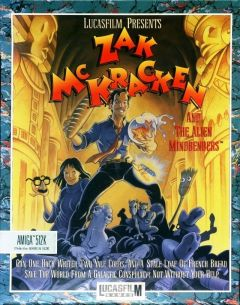 Jaquette de Zak McKracken and the Alien Mindbenders Amiga CD32