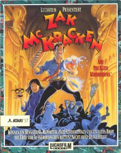 Jaquette de Zak McKracken and the Alien Mindbenders Atari ST