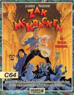 Jaquette de Zak McKracken and the Alien Mindbenders Commodore 64