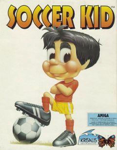 Jaquette de Soccer Kid Amiga