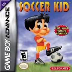 Jaquette de Soccer Kid Game Boy Advance