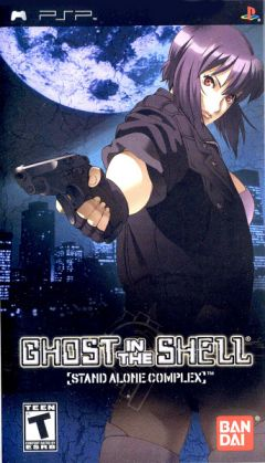 Jaquette de Ghost in the Shell : Stand Alone Complex PSP
